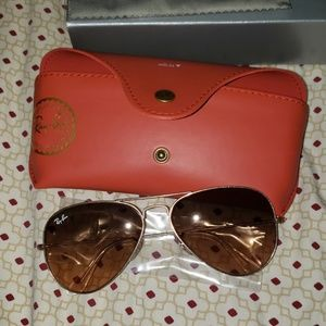 Brand new personalize ray bans